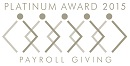 Payroll Giving 2015 Platinum